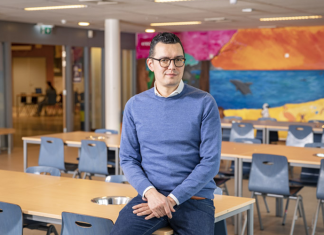"""Directeur Van de Gronden: """"Anderhalvemeterschool biedt kansen"""""""