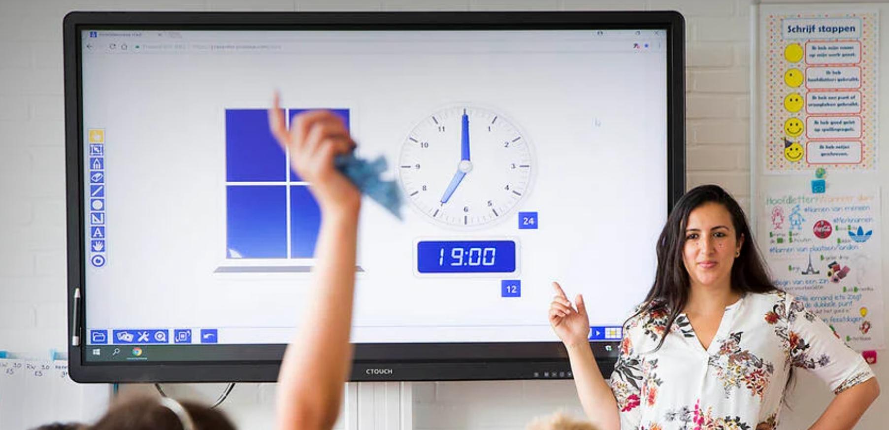 Webinar techniek modern klaslokaal