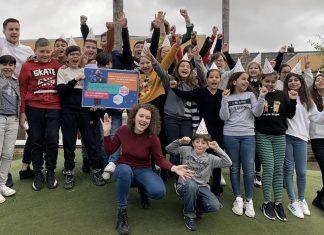 Groep 7 van OBS de Peperklip uit Schiedam wint tiende editie MediaMasters